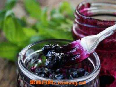 蓝莓果酱的食用方法 果酱怎幺吃