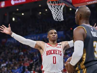 nba火箭vs雷霆 01月10日NBA常规赛
